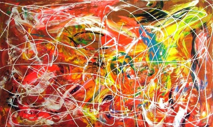 fluorescent paintings